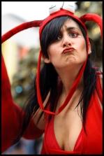 Hala on Stilts - Montreal Jazz Festival - squishyface Crayfish