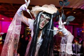 Corpse bride scary Halloween character Toronto Entertainment