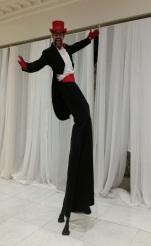 Tuxedo stiltwalker Toronto GTA