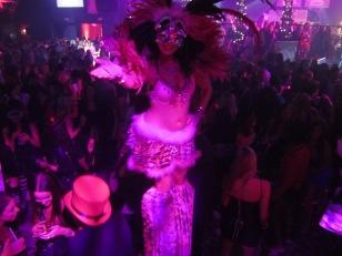 Hala on Stilts pink booby ball 2014