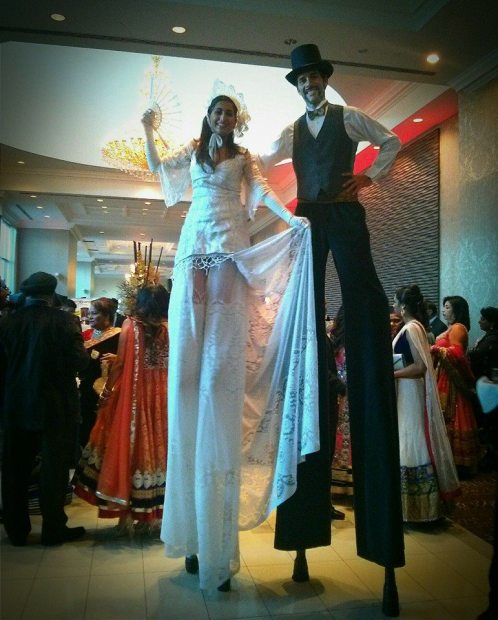 Hala on stilts toronto lacey and gentleman