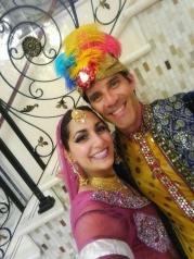 Diwali Indian stiltwalkers bollywood stilts 2017