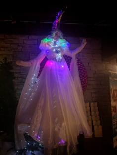 LED stiltwalker Toronto Hala on Stilts Entertainment 2017