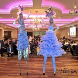 Lavender ladies on stilts 2019 toronto